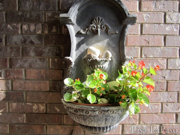 """Potted plants can be in any clever vessel you choose."