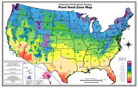 Heat Zone Map-Guess what? It's hot here!