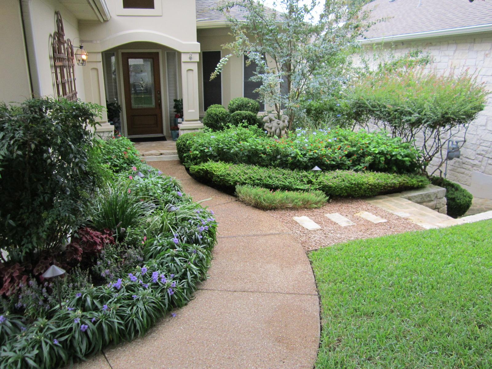 Front Yard Design Inspiration for Austintastic Landscapes   Lisa\'s ...