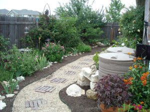 Rain Barrels are now all sorts of shapes and sizes and can be easily camouflaged.