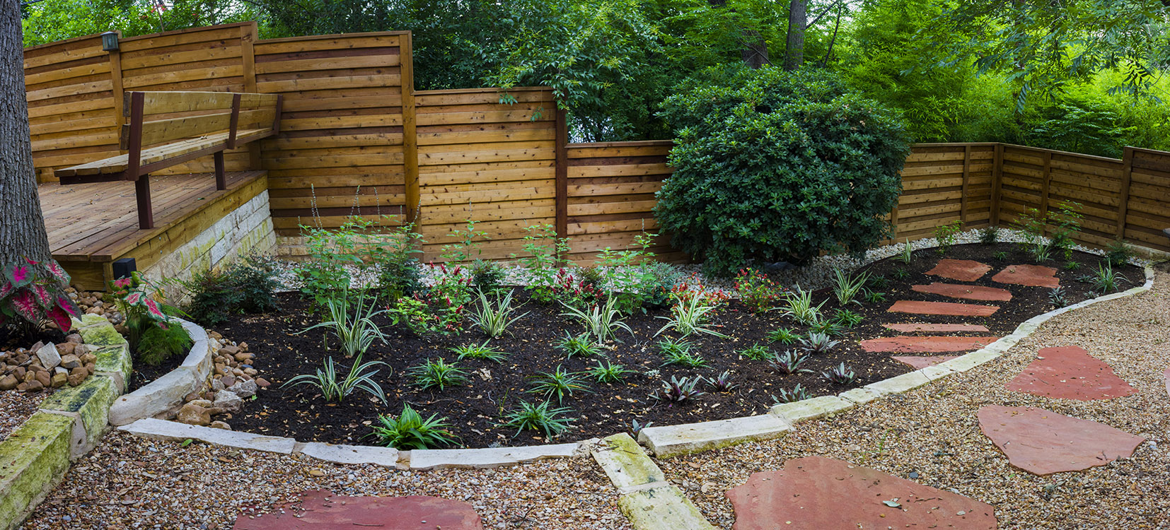 Look what i can do lush xeriscape landscapes in austin for Garden design texas